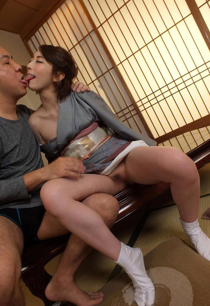 着物 浴衣 セックス エロ画像 9