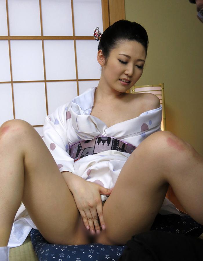 着物 浴衣 セックス エロ画像 94