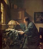 フェルメール天文学者Vermeer_Astronomer