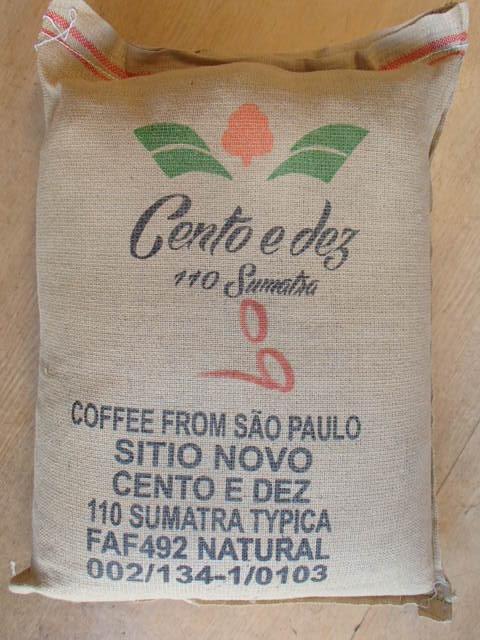 ブラジル110年コーヒー