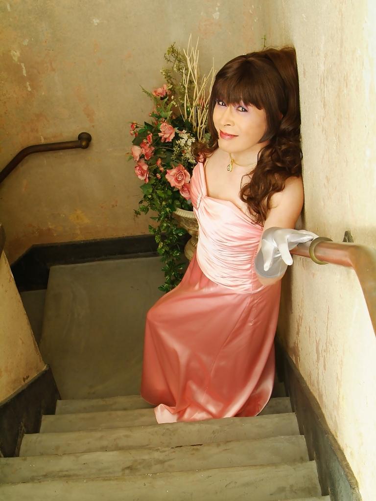 091207薄桃ロングドレス(3)