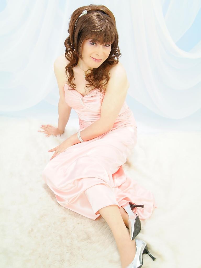 091207薄桃ロングドレス(4)