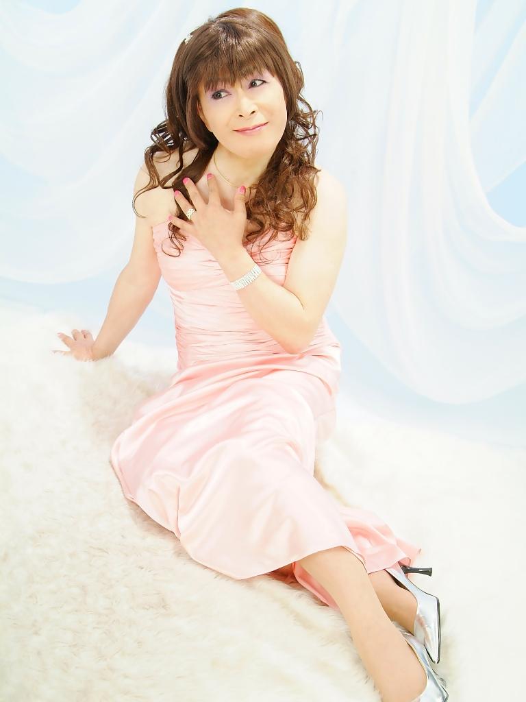 091207薄桃ロングドレス(5)