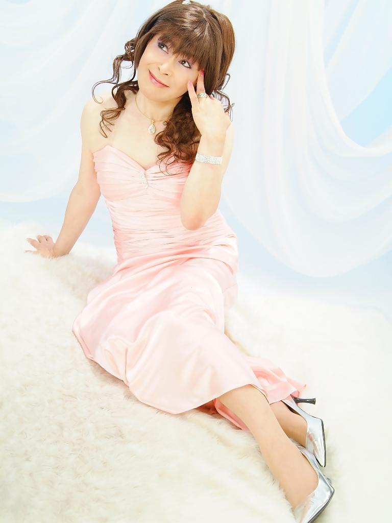 091207薄桃ロングドレス(8)
