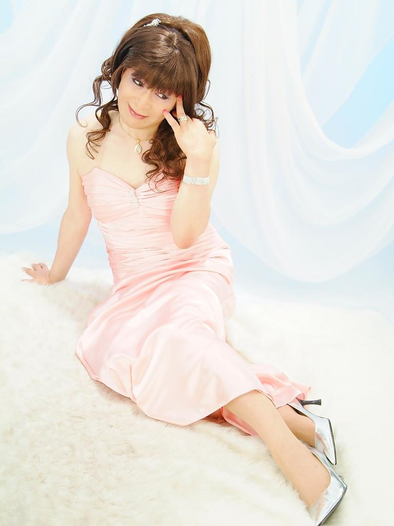 091207薄桃ロングドレス(7)