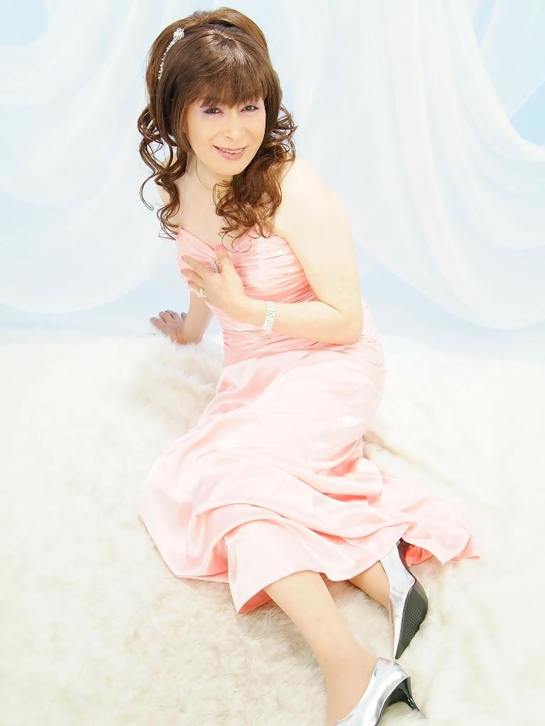 091207薄桃ロングドレス(10)