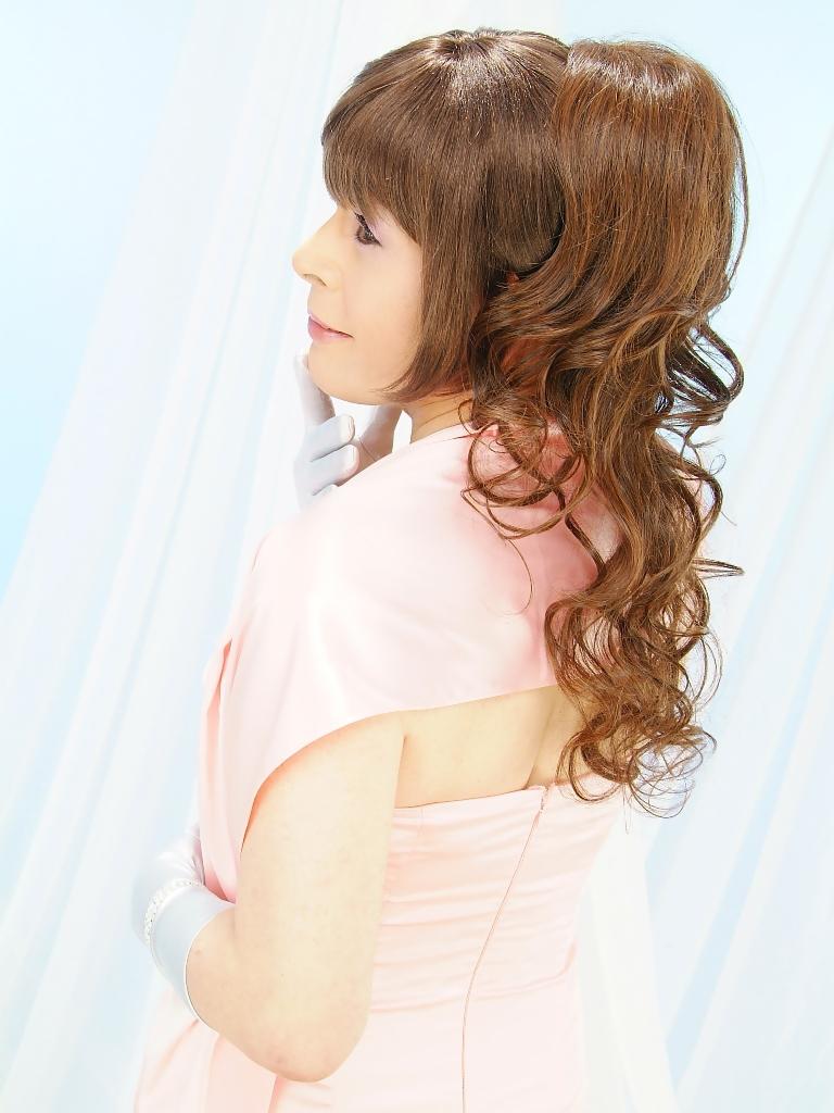 091207薄桃ロングドレス(16)