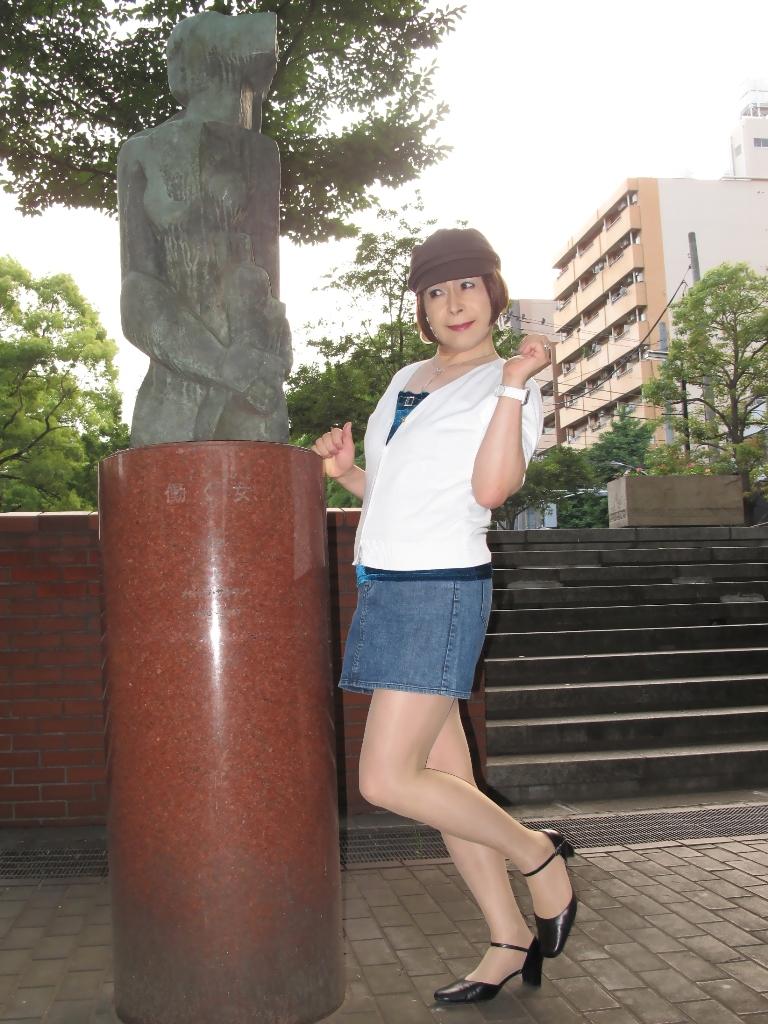 100605デニム白カーデ(4)