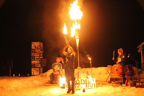 湯野上温泉火祭り2015014