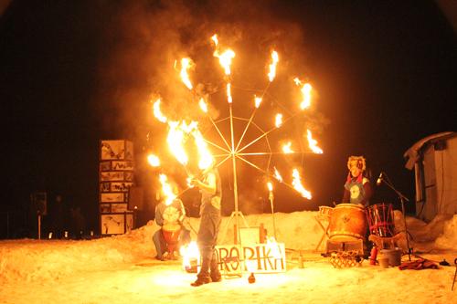 湯野上温泉火祭り2015013