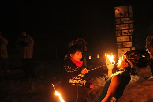 湯野上温泉火祭り2015012