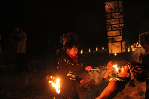 湯野上温泉火祭り2015010