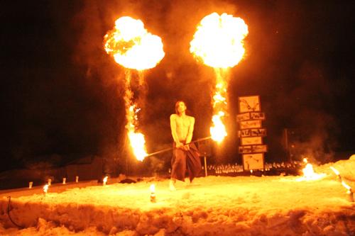 湯野上温泉火祭り2015008
