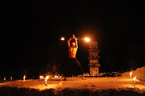 湯野上温泉火祭り2015007