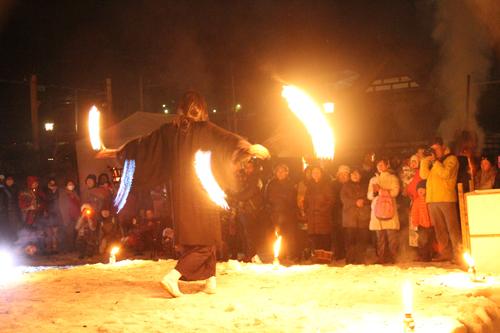 湯野上温泉火祭り2015005