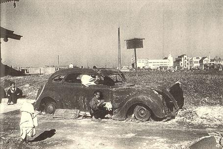 東京大空襲の六ヶ月後の浅草