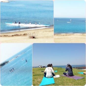 beach yoga 04M