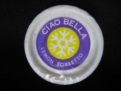 チャオベラレモンソルベ