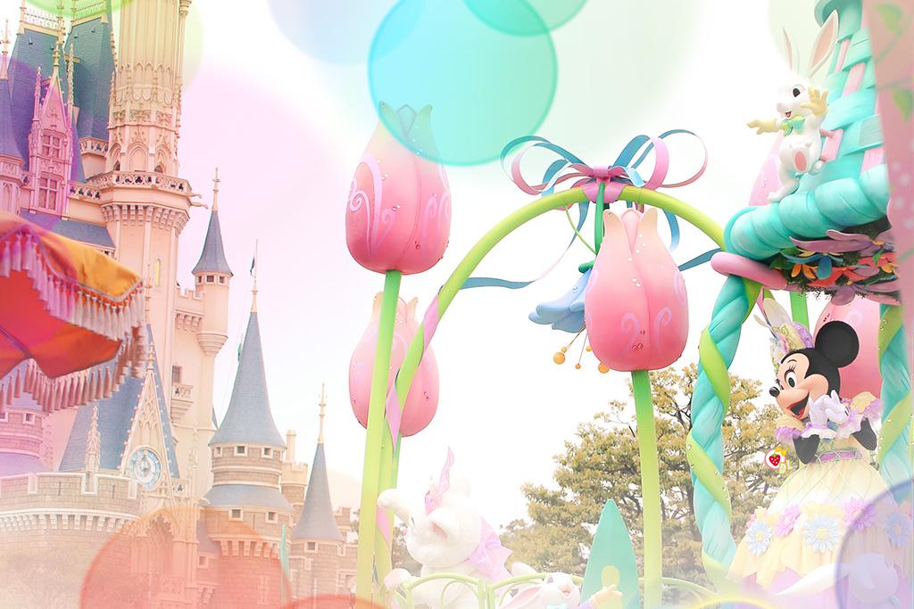 お城×ヒピミニーちゃん1