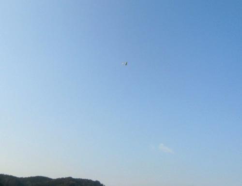 kh16オーバーハンド、飛んでます。