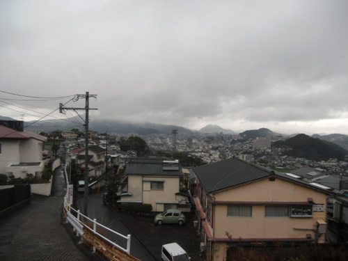 雨~デス。