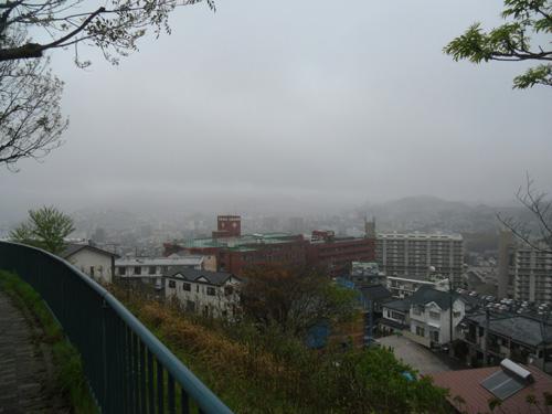 霧雨ですね。