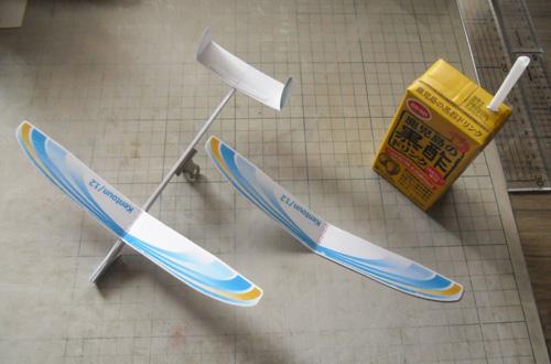 積層胴の機体も完成。