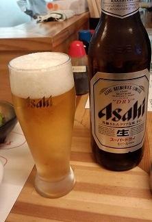 瓶ビール340円やおたみ