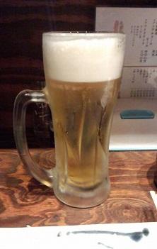 生ビール290円白星