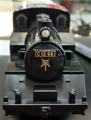 完成した真岡鉄道C12-66号機
