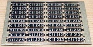 レボリューションファクトリーのC11ナンバープレート