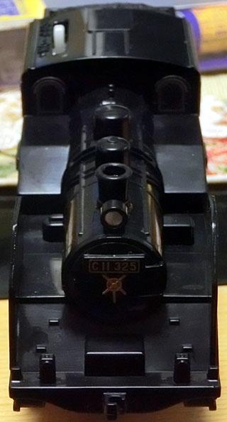 完成した雰囲気重視の真岡鉄道C11-325号機