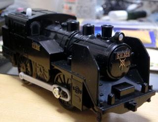 完成した雰囲気重視の真岡鉄道C11-325号機④