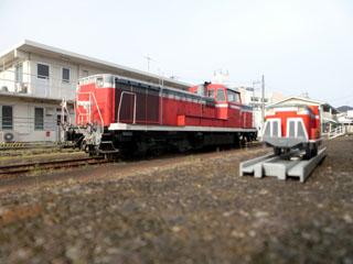 真岡鉄道DE10-1535コラボ写真②