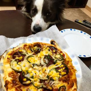 ピザ作りました