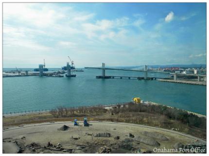 小名浜港見学会 橋