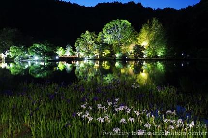 2015.05.13国宝白水阿弥陀堂ライトアップ