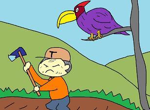 青い鳥は?