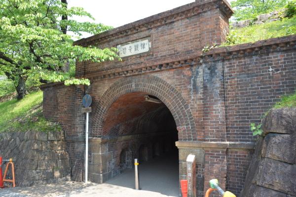 インクライン下トンネル