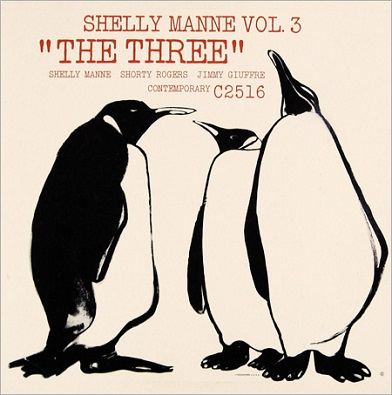 Shelly Manne Vol.3 The Three Contemporary C 2516