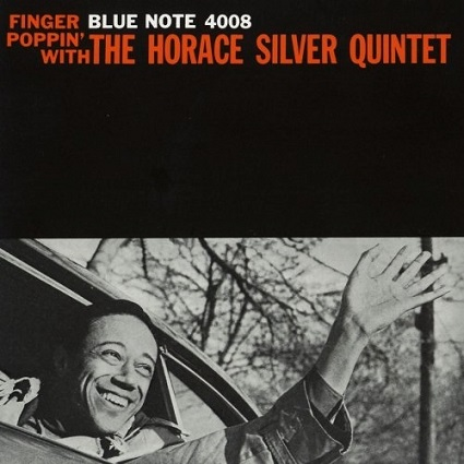 Horace Silver Finger Poppin Blue Note BLP 4008