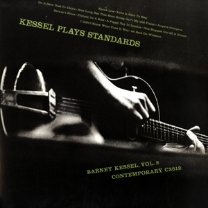 Barney Kessel Kessel Plays Standards Contemporary C 3512