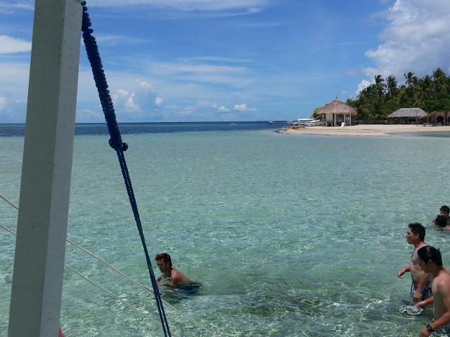 珊瑚ビーチ