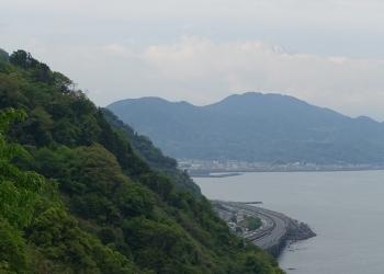 サッタ峠から富士山