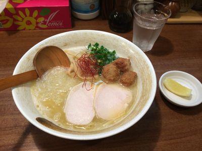超濃厚鶏白湯