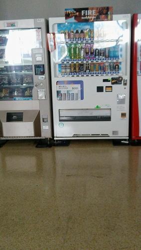 寮の自動販売機