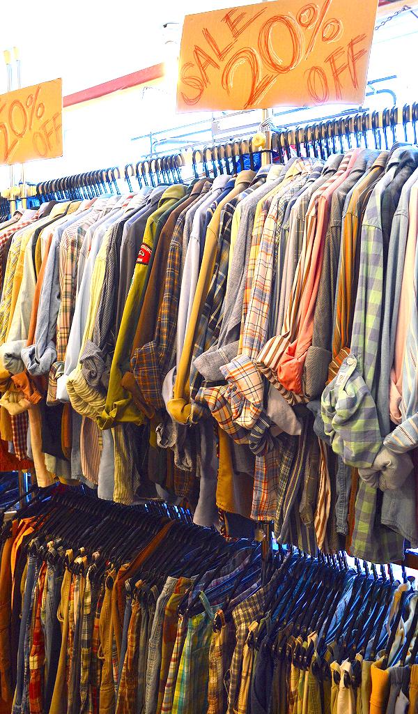 店内USED週末セールSALE画像@古着屋カチカチ4