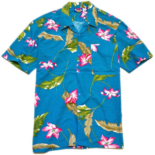 USEDアロハシャツ画像ハワイアンシャツ@古着屋カチカチ02