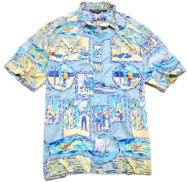 USEDアロハシャツ画像ハワイアンシャツ@古着屋カチカチ03