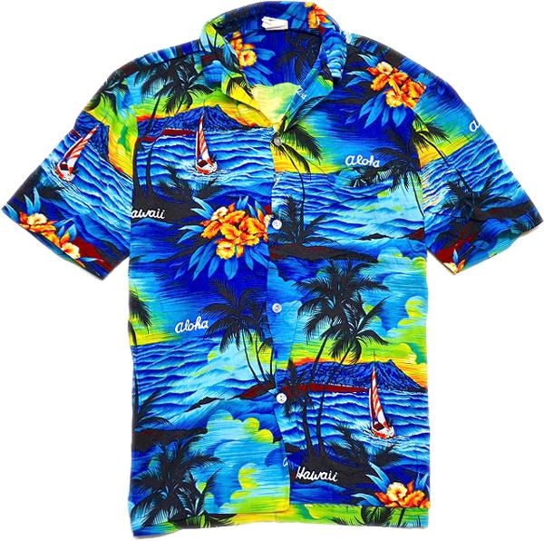 USEDアロハシャツ画像ハワイアンシャツ@古着屋カチカチ04